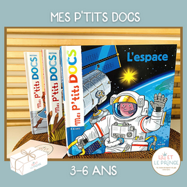 (FRENCH) ABONNEMENT MES P'TITS DOCS 3-6 ans