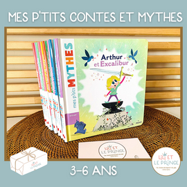 (FRENCH) ABONNEMENT MES P'TITS CONTES/ MYTHES 3-6 ans