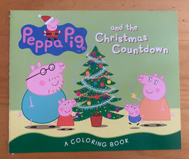 PEPPA PIG AND THE CHRISTMAS COUNTDOWN - COLORING BOOK