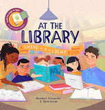 AT THE LIBRARY - SHINE & LIGHT BOOK