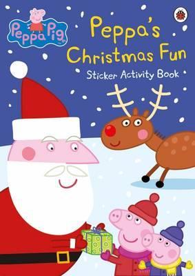 PEPPA'S CHRISTMAS FUN - STICKER ACTIVITY BOOK