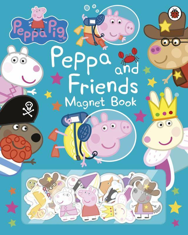 PEPPA AND FRIENDS - MAGNET BOOK