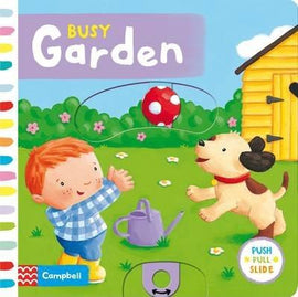 BUSY GARDEN - PUSH PULL SLIDE