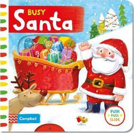 BUSY SANTA - PUSH PULL SLIDE