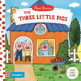 THE THREE LITTLE PIGS - PUSH PULL SLIDE