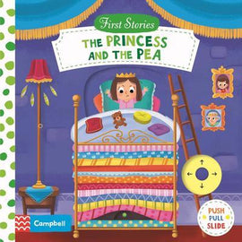 THE PRINCESS AND THE PEA - PUSH PULL SLIDE