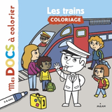 MES DOCS A COLORIER - LES TRAINS