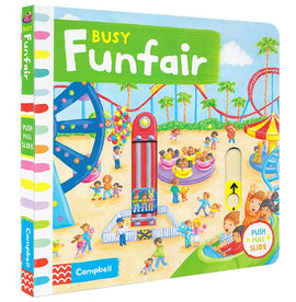 BUSY FUNFAIR - PUSH PULL SLIDE