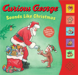 CURIOUS GEORGE SOUNDS LIKE CHRISTMAS - SOUND BOOK