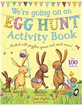 WE'RE GOING ON AN EGG HUNT - ACTIVITY BOOK