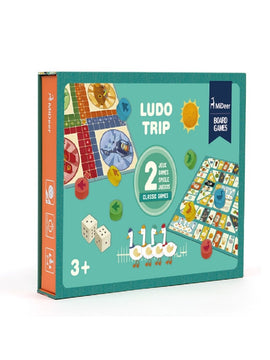 LUDO TRIP + GO SWAN BOARD GAME