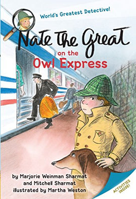 NATE THE GREAT ON OWL EXPRESS