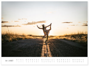 END OF SEASON SALE! - Yoga-Wandkalender 2020
