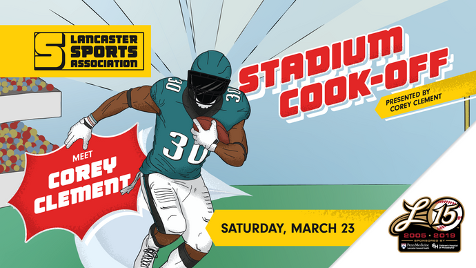 FLASH SALE - $10 OFF Corey Clement Stadium Cook-Off Tickets!