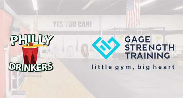Philly Drinkers LLC Partners with Gage Strength Training