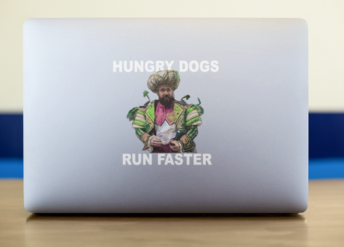Hungry Dogs Sticker