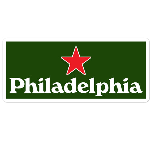 Philadelphia Star Sticker