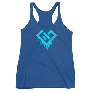 GST Bleeding Heart Women's Racerback Tank
