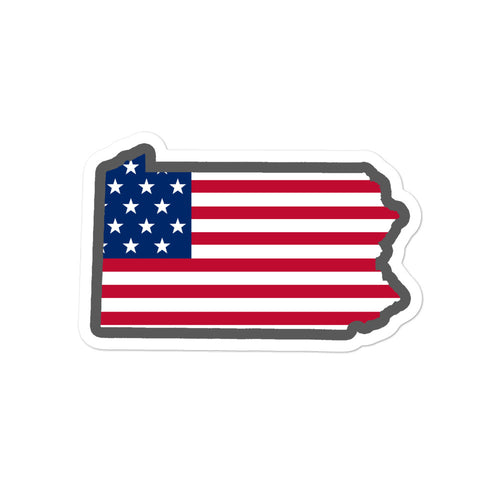 PA USA Sticker