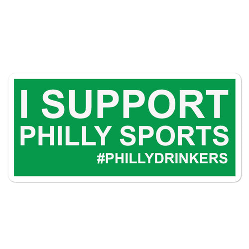 Support Philly Sports Sticker