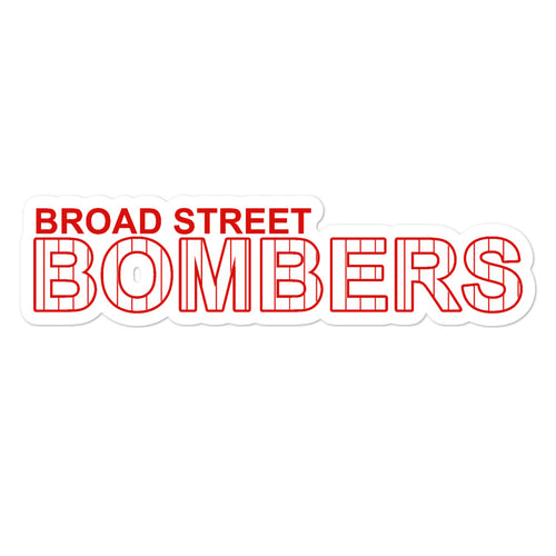 Broad Street Bombers Stickers