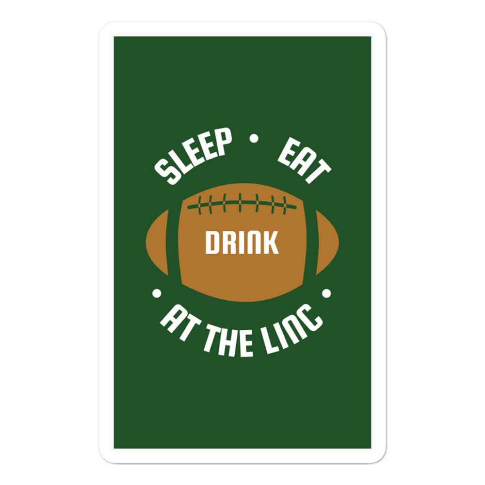 Drink at the Linc Sticker