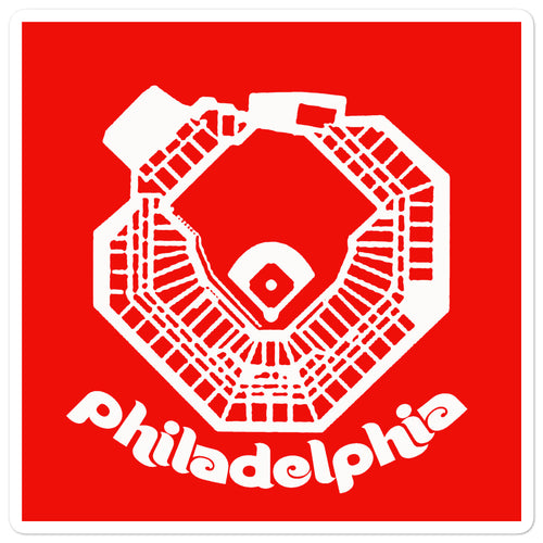 Philadelphia Ballpark Sticker