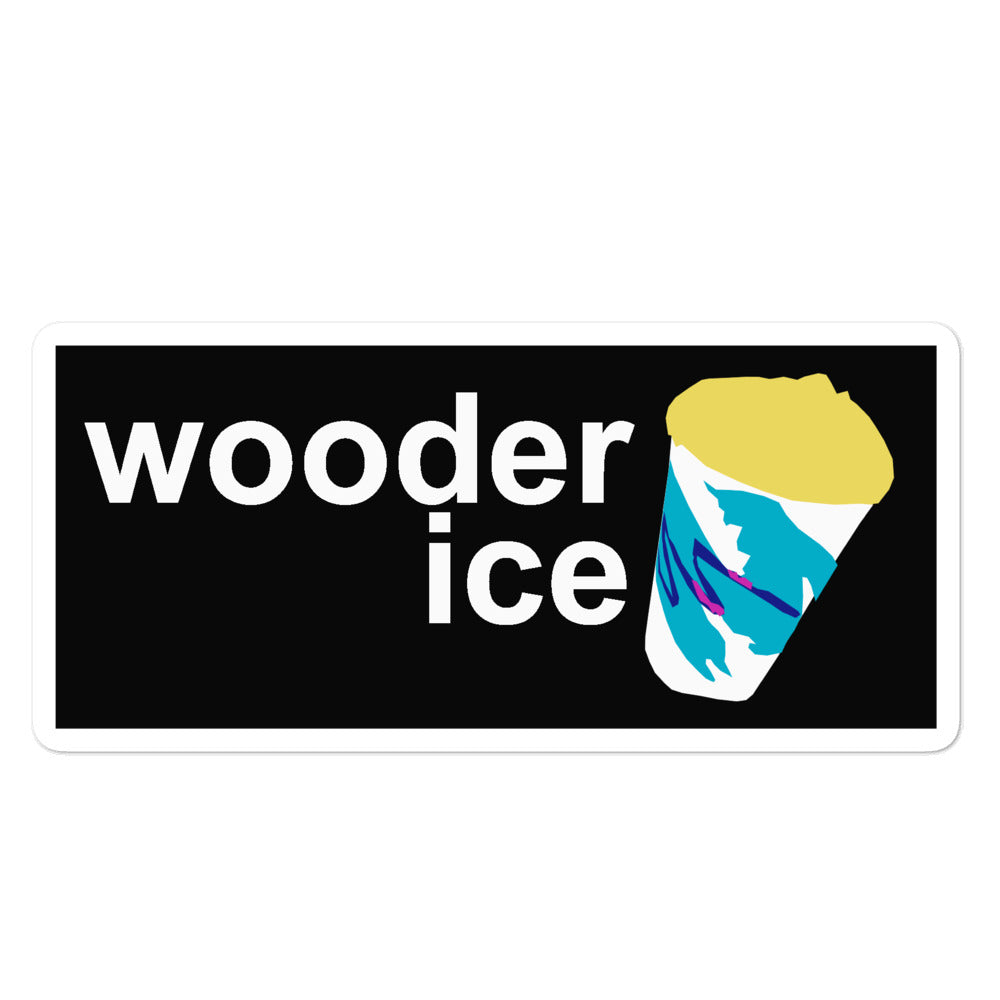 Wooder Ice Sticker