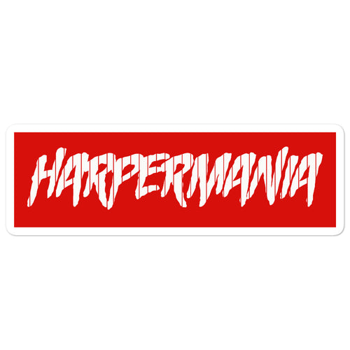 Harpermania Pinstripe Sticker