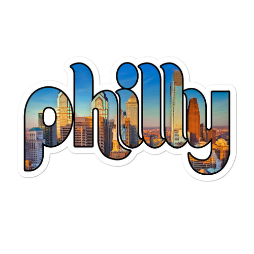Philly Skyline Sticker