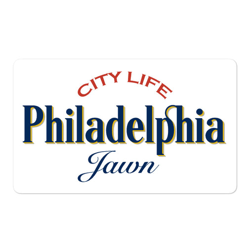 City Life Philadelphia Sticker