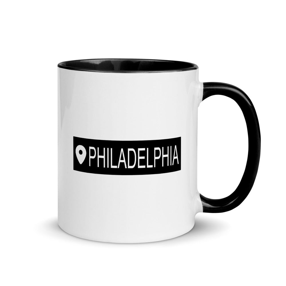 Find Me in Philly Mug