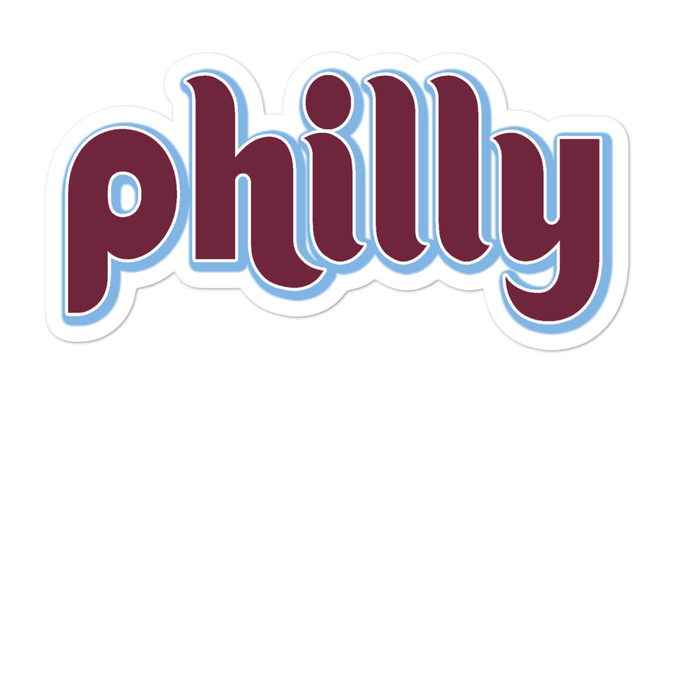 Old School Philly Sticker