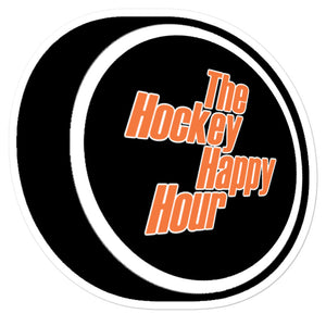 The Hockey Happy Hour A2D Sticker