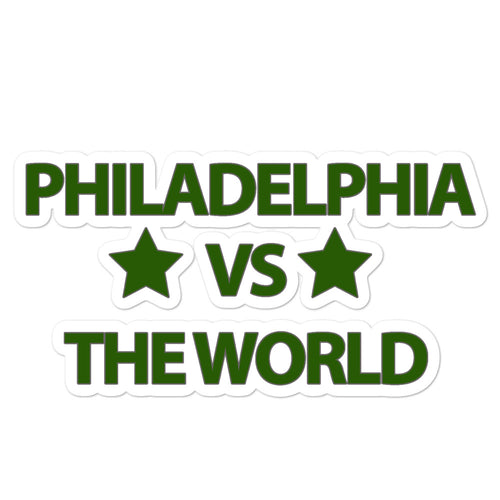 Philadelphia VS the World Sticker