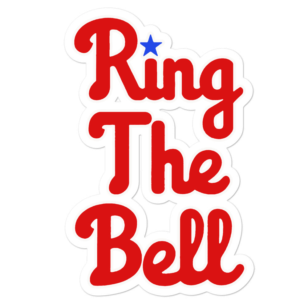 Ring the Bell Sticker