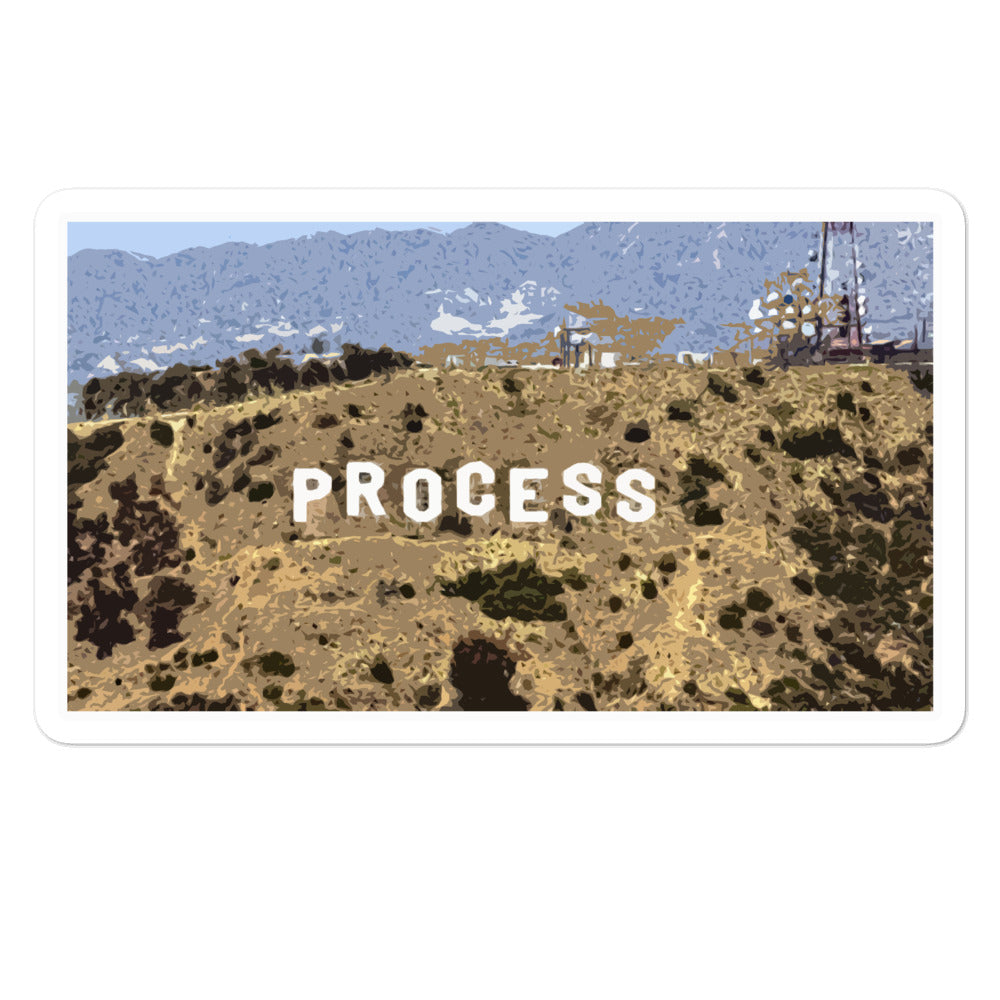 Process Sign Sticker