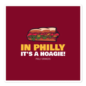 Hoagie Sticker
