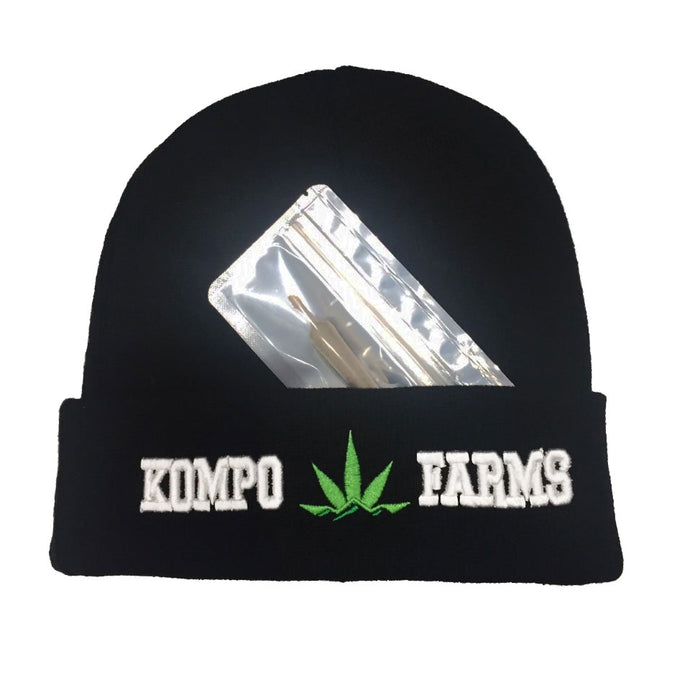 *Kompo Farms Beanie & Hashroll*