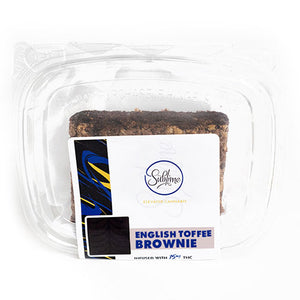 English Toffee Brownie