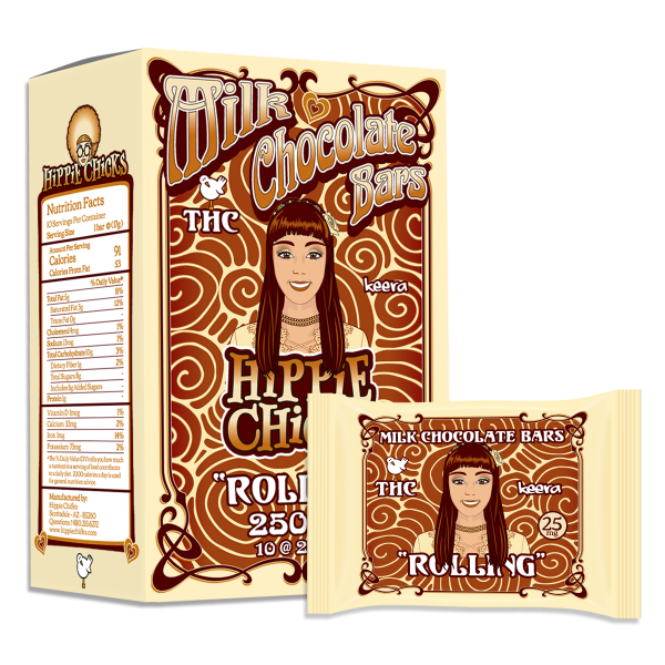 Rolling Milk Chocolate Bars