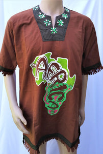 Traditional Africa Top for Men
