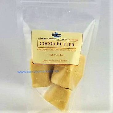 Raw Cocoa Butter - Carry Go Market