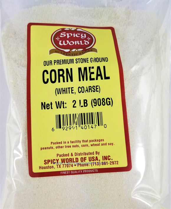 Corn Meal - White 2lbs - Carry Go Market