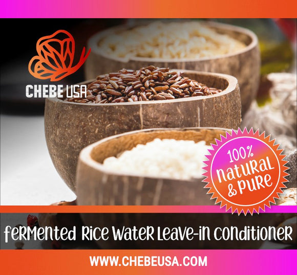 Chebe Fermented Rice Water (Leave-In Conditioner)
