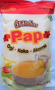 Grandios Corn Pap - Yellow
