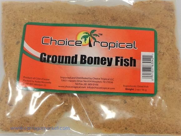 Ground Boney Fish 2oz - Carry Go Market