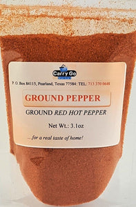 Ground Hot Pepper 4oz - Carry Go Market