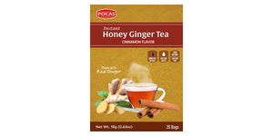Honey Ginger Tea - Cinnamon Flavor