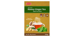 Honey Ginger Tea - Green Tea Flavor